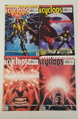 Cyclops #1-4, Complete, ICONS,  X-Men (Oct 2001, Marvel)