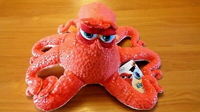 Disneystore Finding Dory Hank Octopus  Medium Soft Plush Toy 44Cm New With Tags