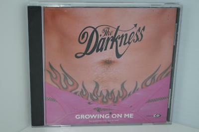 THE DARKNESS Growing On Me RARE US Radio Promo Only CD Single 2004 Enhanced CD