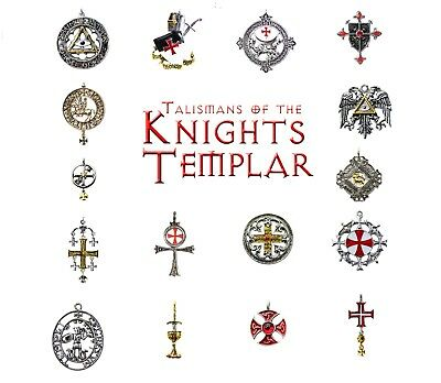 Talismans of the Knights Templar Pendant Necklace