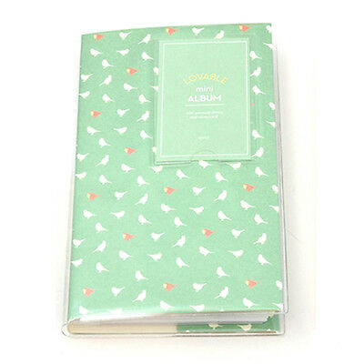 84-Pockets Photo Album For FujiFilm Instax Mini Polaroid Fuji Film Camera 7 G9J4