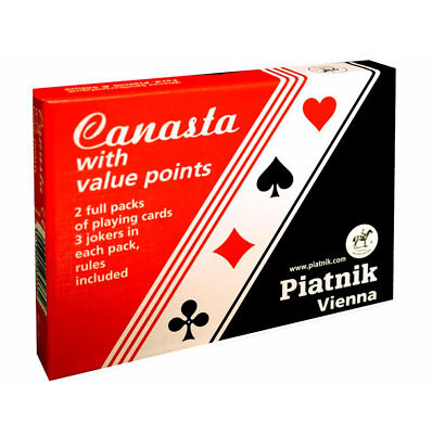 Canasta with Value Points Card Game NEW