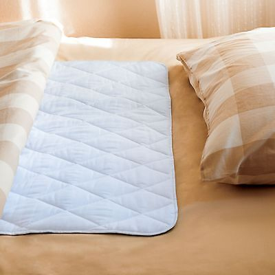 """2 Waterproof Incontinence Bed Pad & Sheet Protectors - 34"""" x 52"""" inches Underpad"""