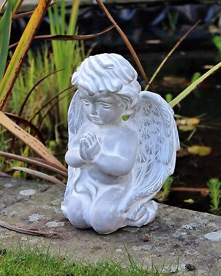 Large Magical Fairy Angel Garden Ornament Stone Figurine Statue