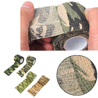 4stk 4.5m Waterproof Wrap Hunting Camping Hiking Camouflage-Stealth Tape Pro