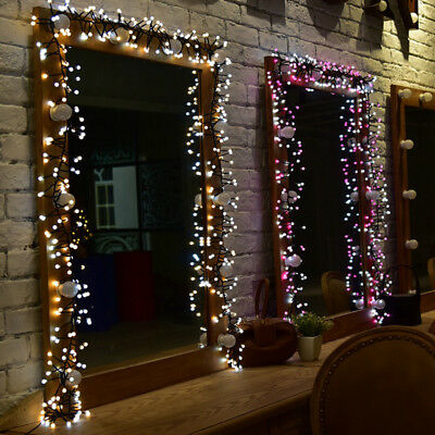 400 Led Cer Christmas String Fairy Lights Twin Color