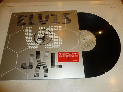 "ELVIS PRESLEY Vs JXL - A Little Less Conversation - UK 3-track 12"" vinyl single"
