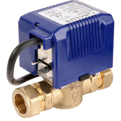 Salus Standard 2 Port Motorised 22mm Valve for Central Heating Systems