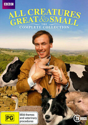 All Creatures Great And Small The Complete Collection DVD R4 New!
