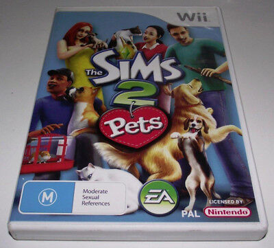 The Sims 2 Pets Nintendo Wii PAL *Complete* Wii U Compatible