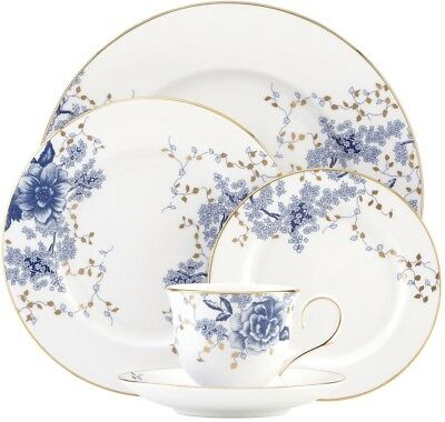 5 Piece Dinnerware Place Setting Kitchen Plates Cups Meals Dinner