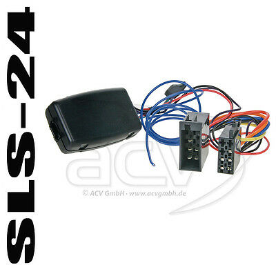 Sony Autoradio Lenkradadapter Saab 9-3 9-5 bis 2007 ISO Radio Stecker Interface