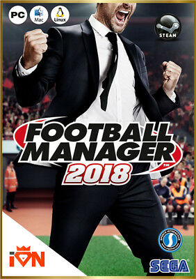 [Versione Digitale Steam] PC Football Manager 2018 FM 18  *Invio Key via email