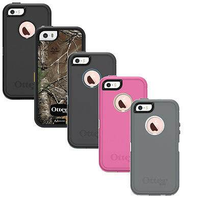 New! OtterBox Defender Apple iPhone iPhone 5, iPhone 5S & iPhone SE -No Clip