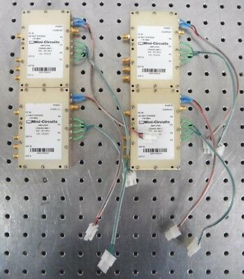 C144478 Lot 4 Mini-Circuits ZRADIO-900-1 Amplifier 806-901MHz w/ SMA Connectors