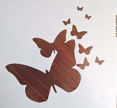 Butterfly Stencil Template Reusable 10 mil Mylar