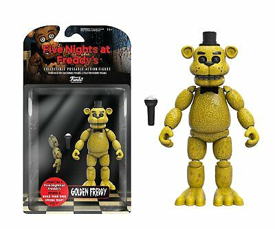5 Nights at Freddy's Action Figure - Golden Freddy - Brand New