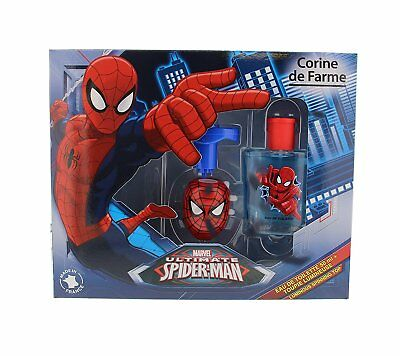 Corine de Farme Set Spiderman Eau De Toilette 50 ml + Spinning Top