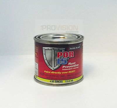 Por-15 45006 1 Can Of Gloss Black Rust Preventive Coating 4 Oz Can (Por-45006)