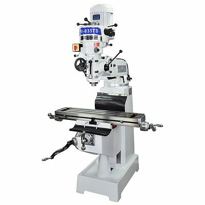 Pm-935Ts Vertical Knee Mill Milling Machine,ultra High End Machine 3 Phase