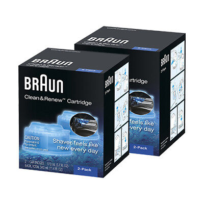 Braun Clean & Renew System Cartridges Refills 4 Pack CCR 4