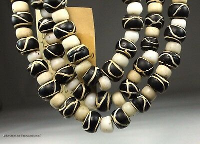 Antique Native American Venetian Old Trade Bead Great Lakes Indians Artifact
