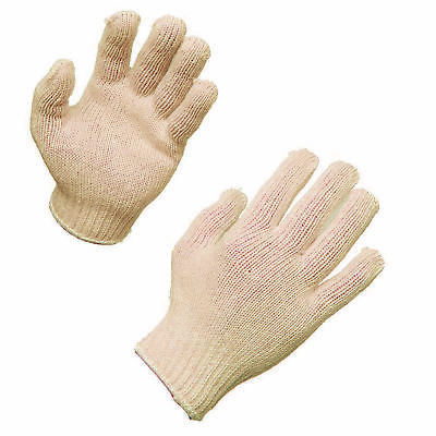 AMMEX String Knit Work Gloves (Bag of 12 pairs)
