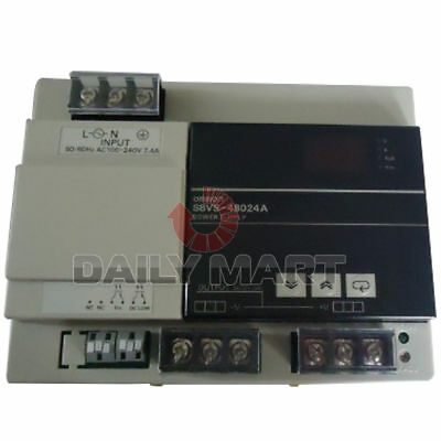 New in Box Omron S8VS-48024A DIN Rail Power Supply 5V 480W 100~240VAC S8VS48024A