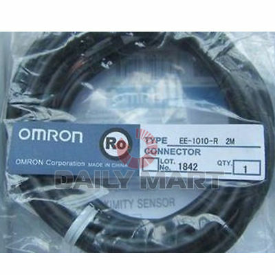 NEW Omron EE-1010R 2M 4 WIRE CONNECTOR FREE SHIPPING
