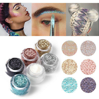 Makeup Glitter Eyeshadow Shimmer Pigment Loose Powder Makeup Beauty Eye Shadow