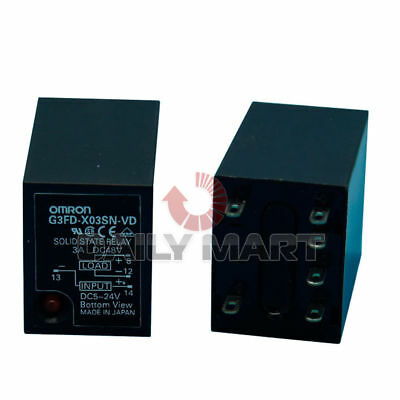 Omron G3Fd-X03Sn-Vd Solid State Relay Industrial Mount Plug In 5-24Vd New