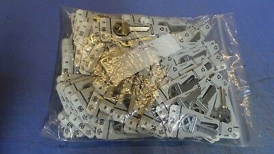 120 – Hillman #66 House Key Blanks, KW1, NEW Nickel  plated