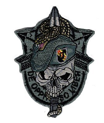 US Army Special Forces Skull Sword and Snake Hook Patch BY MILTACUSA