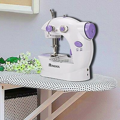 Mini Portable Smart Electric Tailor Stitch Hand-held Sewing Machine Home Travel`