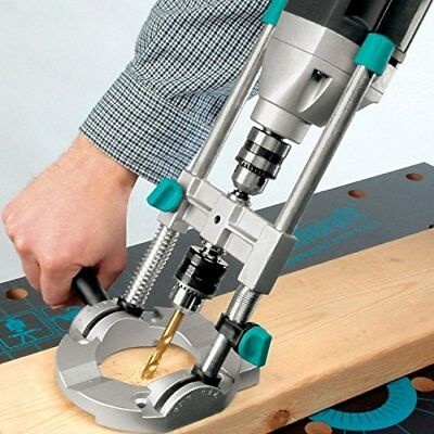 Wolfcraft Portable Drill Press Guide Attachment for 1/4-Inch or 3/8-Inch Drills