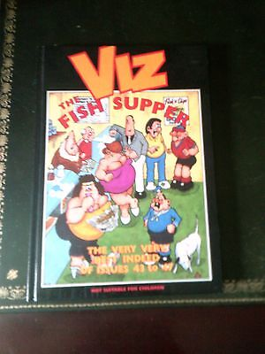 Viz: Book, The Fish Supper, Humour by John Brown Publishing Ltd, (Hardback,Book)