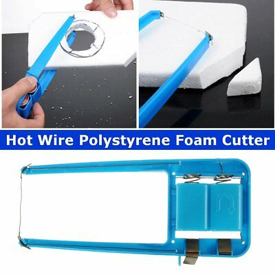 1Pc Blue Hot Wire Polystyrene Foam Cutter Machine Cutting Tool Craft Hobby DIY