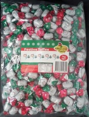 Christmas Festive Toffee Lollies (1kg)