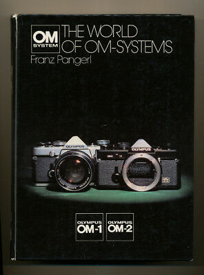 """Olympus libro """"The world of OM-Systems"""" Olympus OM-1/OM-2 in inglese D637"""