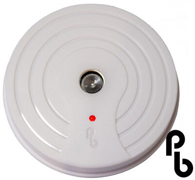 Ceiling Mounted Discreet Battery Operated Sonic Rat and Mouse Repeller- Pestbye