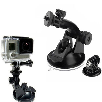 Strong Adsorption Suction Cup Car Windscreen Dash Mount for GoPro Hero 3+ 4
