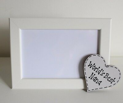 Personalised Best Dad Grandad Daddy Nana Photo Frame Father's Day Gift Present
