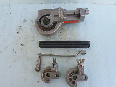 Lakeland Model 412 Tube Bender w/Slide Block & Two(2) Radius Blocks
