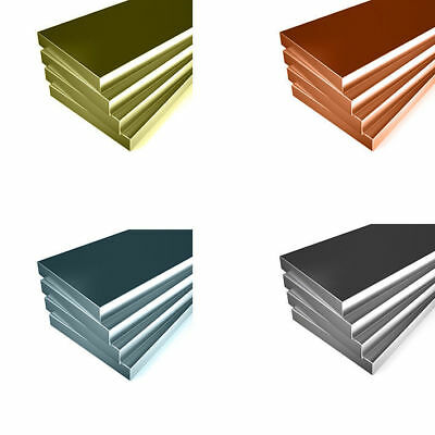 FLAT BAR Copper Brass Aluminium Stainless Steel All Sizes & Lengths available