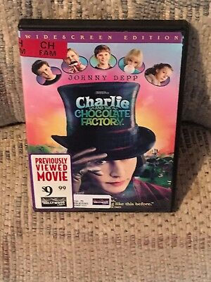 Charlie and the Chocolate Factory DVD - Widescreen Edition - Johnny Depp