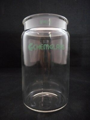 CHEMGLASS TLC Chromatography Cylindrical Developing Chamber Bottle 60/15 2x4 in