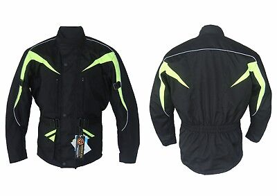 Warrior Motorcycle  Textile 600D Cordura Waterproof Ce Armours Quilted Jackets