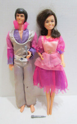"The Osmonds Donny And Marie Osmond 1976 Mattel 12"" Tv Celebrity Doll Pair Set"