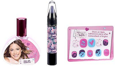DISNEY Violetta Set Eau de Toilette 30 ml/ Nail Pencil/ Eye decoration