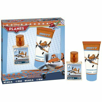 DISNEY PLANES Eau de Toilette and Shower Gel Duo Gift Set, 30 ml/60 ml